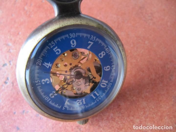 Relojes de bolsillo: RELOJ DE BOLSILLO DE CUERDA - Foto 8 - 187535212