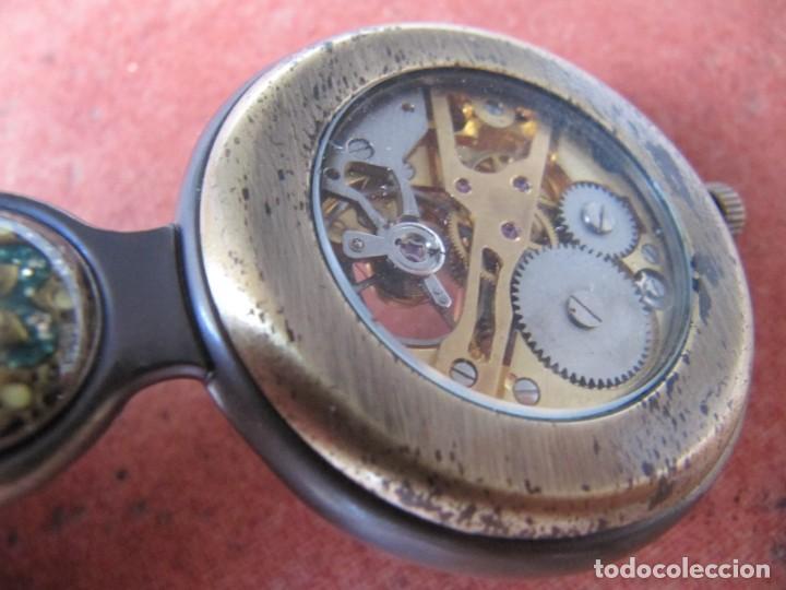 Relojes de bolsillo: RELOJ DE BOLSILLO DE CUERDA - Foto 10 - 187535212