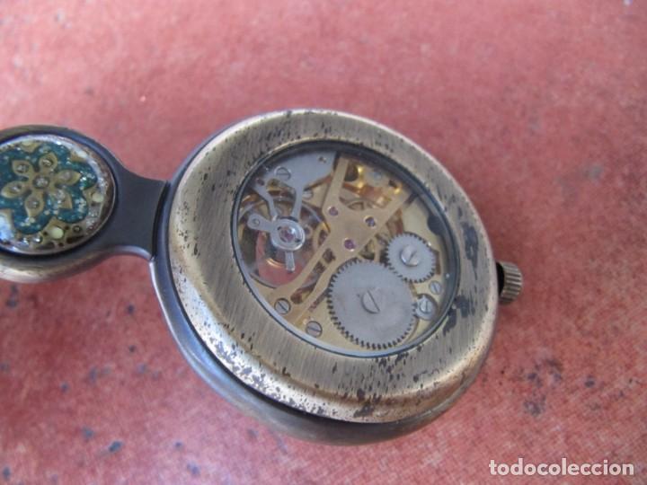 Relojes de bolsillo: RELOJ DE BOLSILLO DE CUERDA - Foto 11 - 187535212