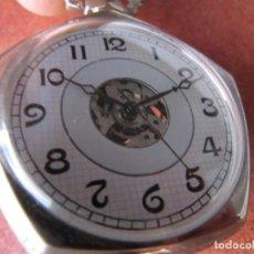 Relojes de bolsillo: RELOJ DE BOLSILLO DE CUERDA. Lote 187536560