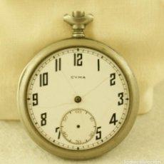 Relojes de bolsillo: CYMA RELOJ BOLSILLO PARA PIEZAS 50MM N7. Lote 187609958