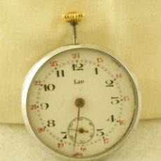 Relojes de bolsillo: MAQUINA + ESFERA+ BISEL RELOJ BOLSILLO LIP ANDA Y PARA N30. Lote 188722402