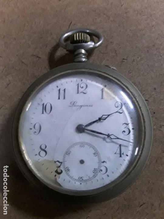 RELOJ DE BOLSILLO ANTIGUO LONGINES (Relojes - Bolsillo Carga Manual)