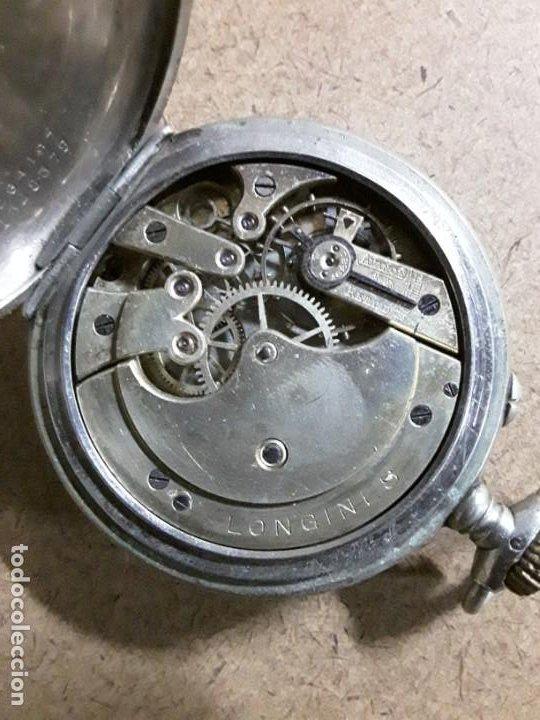 Relojes de bolsillo: Reloj de bolsillo antiguo longines - Foto 5 - 188755831