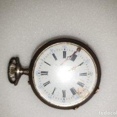 Relojes de bolsillo: RELOJ BOLSILLO POSIBLEMENTE PLATA. Lote 188812351