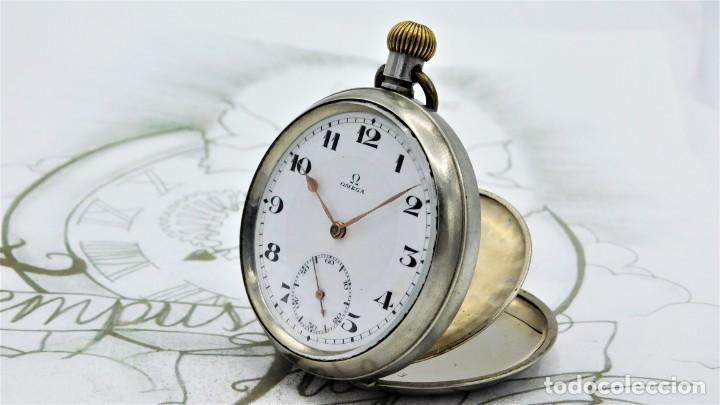 Relojes de bolsillo: OMEGA-RELOJ DE BOLSILLO-CIRCA 1920-FUNCIONANDO - Foto 14 - 188824277