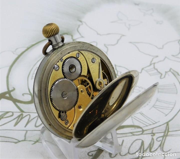Relojes de bolsillo: OMEGA-RELOJ DE BOLSILLO-CIRCA 1920-FUNCIONANDO - Foto 6 - 188824277