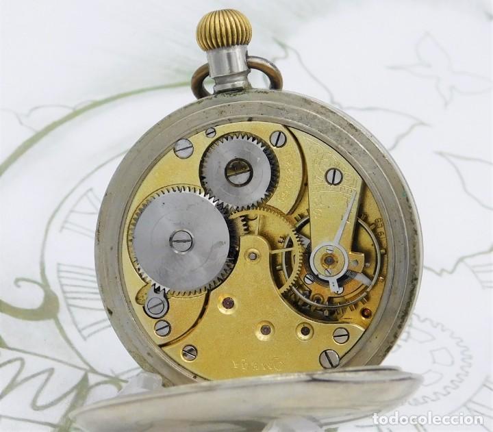 Relojes de bolsillo: OMEGA-RELOJ DE BOLSILLO-CIRCA 1920-FUNCIONANDO - Foto 2 - 188824277