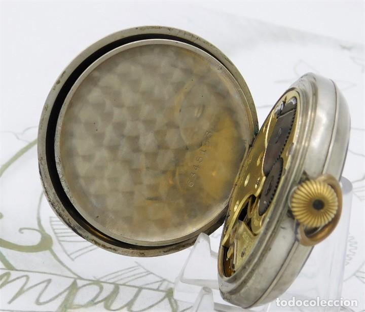 Relojes de bolsillo: OMEGA-RELOJ DE BOLSILLO-CIRCA 1920-FUNCIONANDO - Foto 5 - 188824277