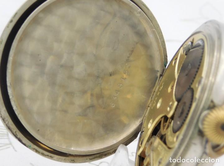 Relojes de bolsillo: OMEGA-RELOJ DE BOLSILLO-CIRCA 1920-FUNCIONANDO - Foto 8 - 188824277
