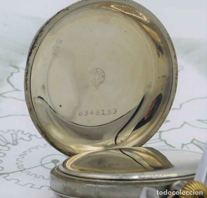 Relojes de bolsillo: OMEGA-RELOJ DE BOLSILLO-CIRCA 1920-FUNCIONANDO - Foto 4 - 188824277