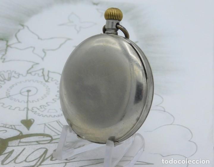 Relojes de bolsillo: OMEGA-RELOJ DE BOLSILLO-CIRCA 1920-FUNCIONANDO - Foto 9 - 188824277