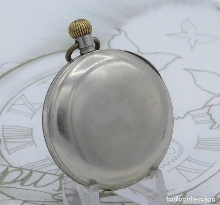 Relojes de bolsillo: OMEGA-RELOJ DE BOLSILLO-CIRCA 1920-FUNCIONANDO - Foto 3 - 188824277