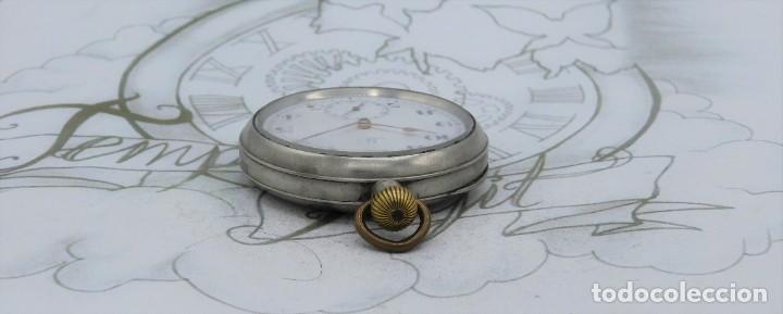 Relojes de bolsillo: OMEGA-RELOJ DE BOLSILLO-CIRCA 1920-FUNCIONANDO - Foto 10 - 188824277