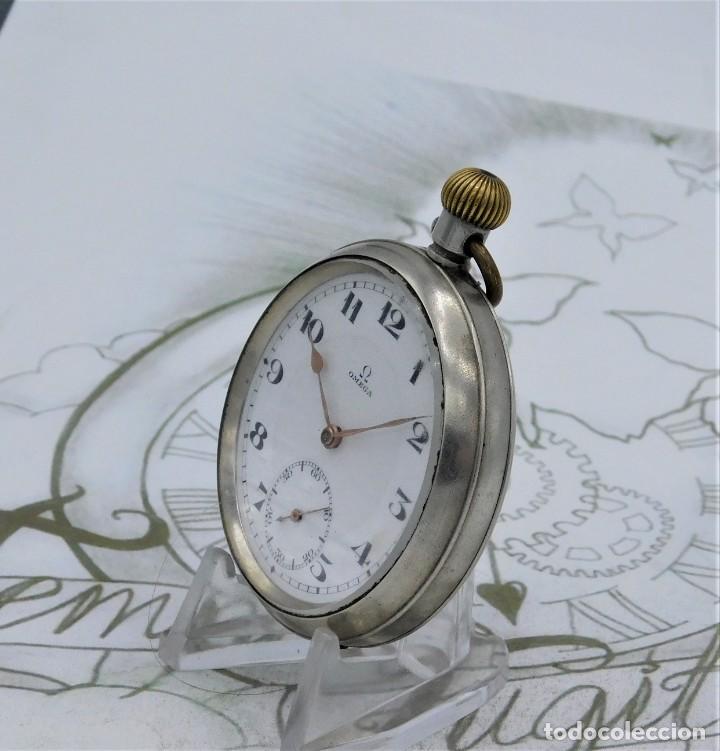 Relojes de bolsillo: OMEGA-RELOJ DE BOLSILLO-CIRCA 1920-FUNCIONANDO - Foto 12 - 188824277