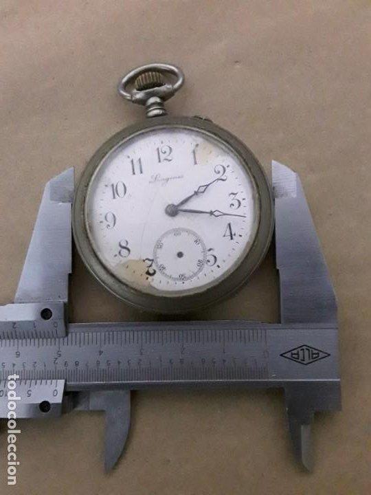 Relojes de bolsillo: Reloj de bolsillo antiguo longines - Foto 6 - 188755831