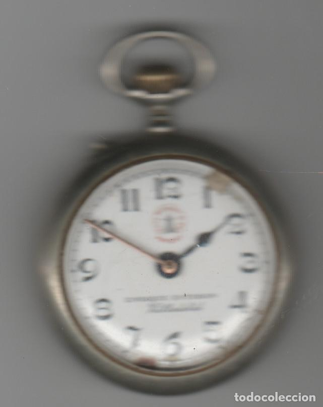 Relojes de bolsillo: RELOJ ROSKOPF-DIAMETRO 45 MM-RELOJERIA ENRIQUE ESTEBAN-VALLADOLID-A REVISAR - Foto 4 - 168353868