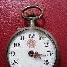 Relojes de bolsillo: CRONOMETRO RELOJ DE BOLSILLO VERDAD - PARA PIEZAS O RESTAURAR. Lote 220885853