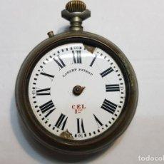 Relojes de bolsillo: RELOJ BOLSILLO CUERDA MANUAL LARDET PATENT C.E.L 1°. Lote 189639967