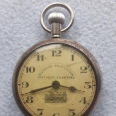 Relojes de bolsillo: RELOJ DE BOLSILLO MARCA RAILWAY REGULATOR. FERROCARRIL.. Lote 190110578