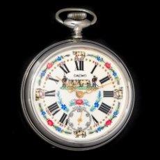 Relógios de bolso: ANTIGUO RELOJ DE BOLSILLO DE ORIGEN SUIZO DE LOS AÑOS 1900 Y FUNCIONANDO.. Lote 190134708