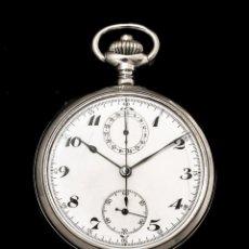 Relojes de bolsillo: ANTIGUO RELOJ DE BOLSILLO Y CRONOGRAFO DE ORIGEN SUIZO DE LOS AÑOS 1900 Y FUNCIONANDO.. Lote 190137406