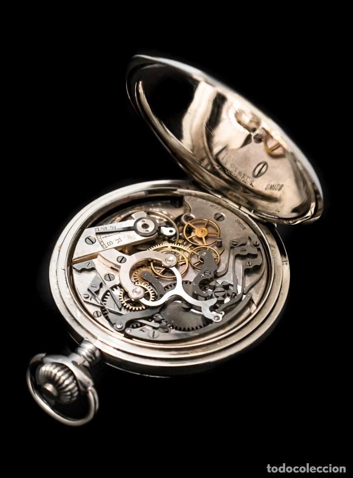 Relojes de bolsillo: Antiguo reloj de bolsillo y cronografo de origen suizo de los años 1900 y funcionando. - Foto 8 - 190137406