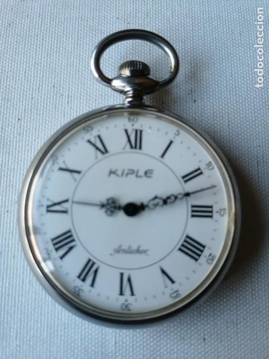 RELOJ DE BOLSILLO KIPLE. (Relojes - Bolsillo Carga Manual)