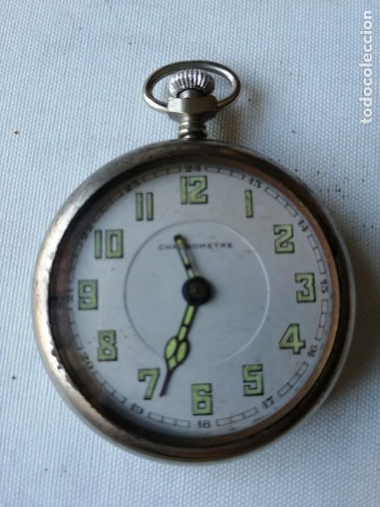RELOJ DE BOLSILLO CHRONOMETRE. (Relojes - Bolsillo Carga Manual)