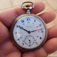 Relojes de bolsillo: RELOJ DE BOLSILLO EN PLATA DE LA MARCA ZENITH AÑO 1919. Lote 203861003