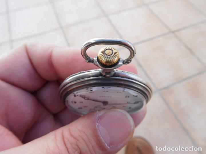 Relojes de bolsillo: Reloj de bolsillo en plata de la marca Zenith año 1919 - Foto 24 - 203861003