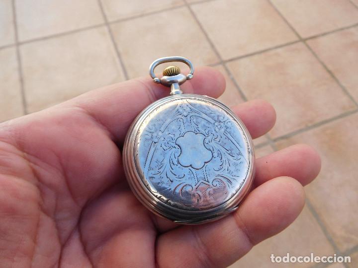 Relojes de bolsillo: Reloj de bolsillo en plata de la marca Zenith año 1919 - Foto 5 - 203861003