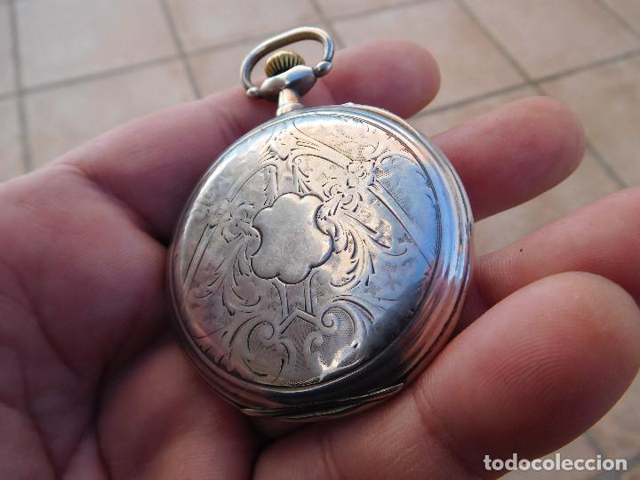 Relojes de bolsillo: Reloj de bolsillo en plata de la marca Zenith año 1919 - Foto 7 - 203861003