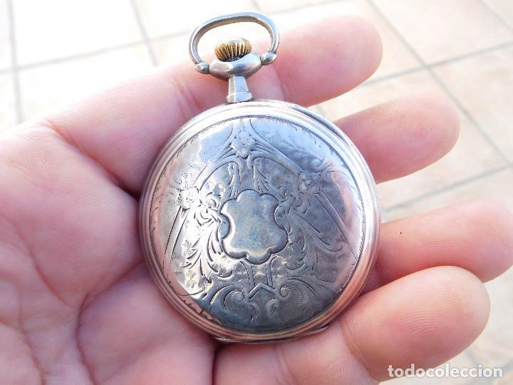 Relojes de bolsillo: Reloj de bolsillo en plata de la marca Zenith año 1919 - Foto 8 - 203861003