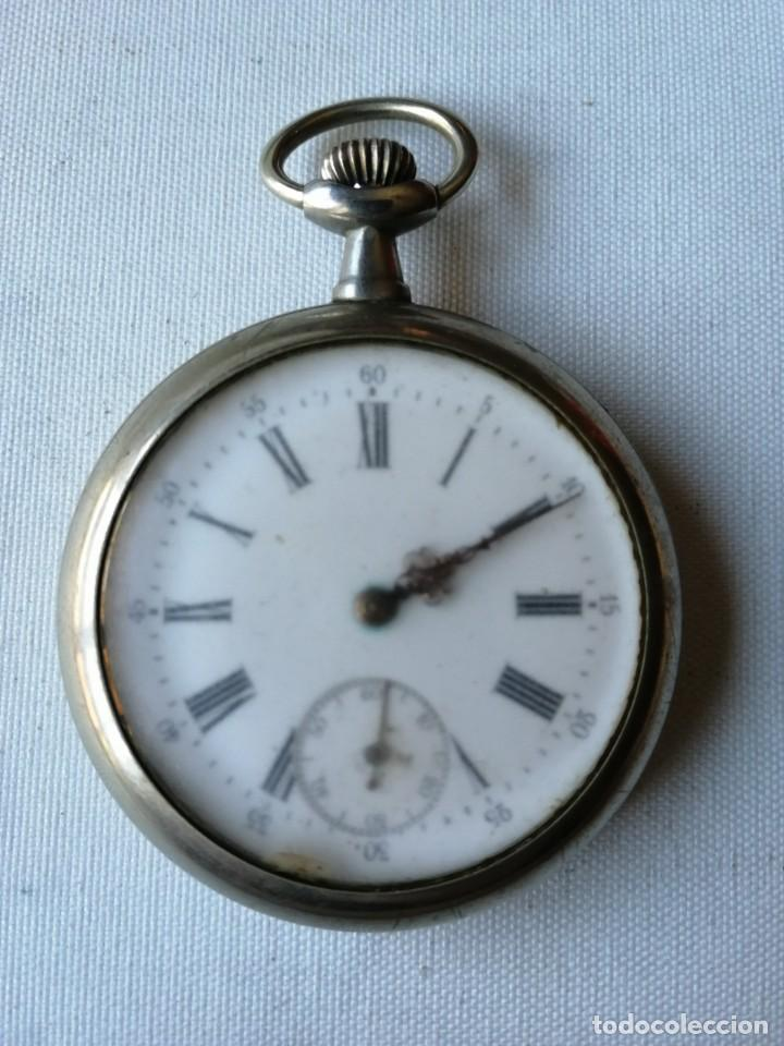 RELOJ DE BOLSILLO DE TAMAÑO GRANDE.¿CHRONO VICTRIX? (Relojes - Bolsillo Carga Manual)