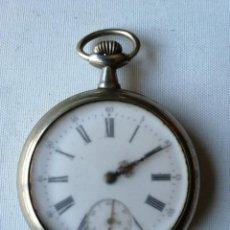 Relojes de bolsillo: RELOJ DE BOLSILLO DE TAMAÑO GRANDE.¿CHRONO VICTRIX?. Lote 190644303