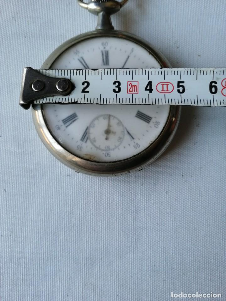 Relojes de bolsillo: RELOJ DE BOLSILLO DE TAMAÑO GRANDE.¿CHRONO VICTRIX? - Foto 2 - 190644303