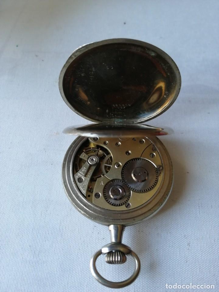Relojes de bolsillo: RELOJ DE BOLSILLO DE TAMAÑO GRANDE.¿CHRONO VICTRIX? - Foto 4 - 190644303