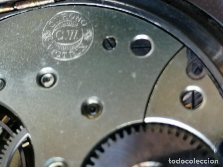 Relojes de bolsillo: RELOJ DE BOLSILLO DE TAMAÑO GRANDE.¿CHRONO VICTRIX? - Foto 5 - 190644303
