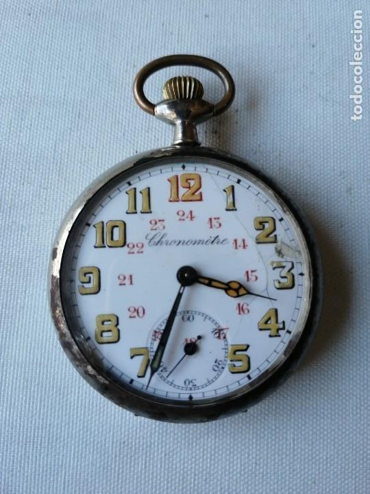 RELOJ DE BOLSILLO CHRONOMÉTRE. (Relojes - Bolsillo Carga Manual)