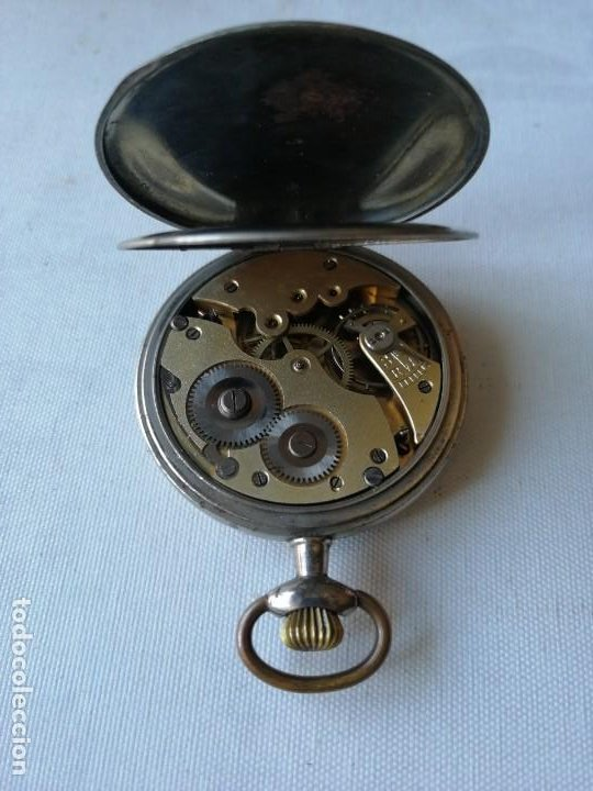 Relojes de bolsillo: RELOJ DE BOLSILLO CHRONOMÉTRE. - Foto 4 - 190766045
