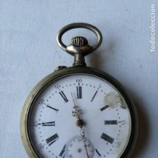 Relojes de bolsillo: RELOJ DE BOLSILLO REMONTOIR ¿ACHEVE? DEPOSÉ.. Lote 190767685