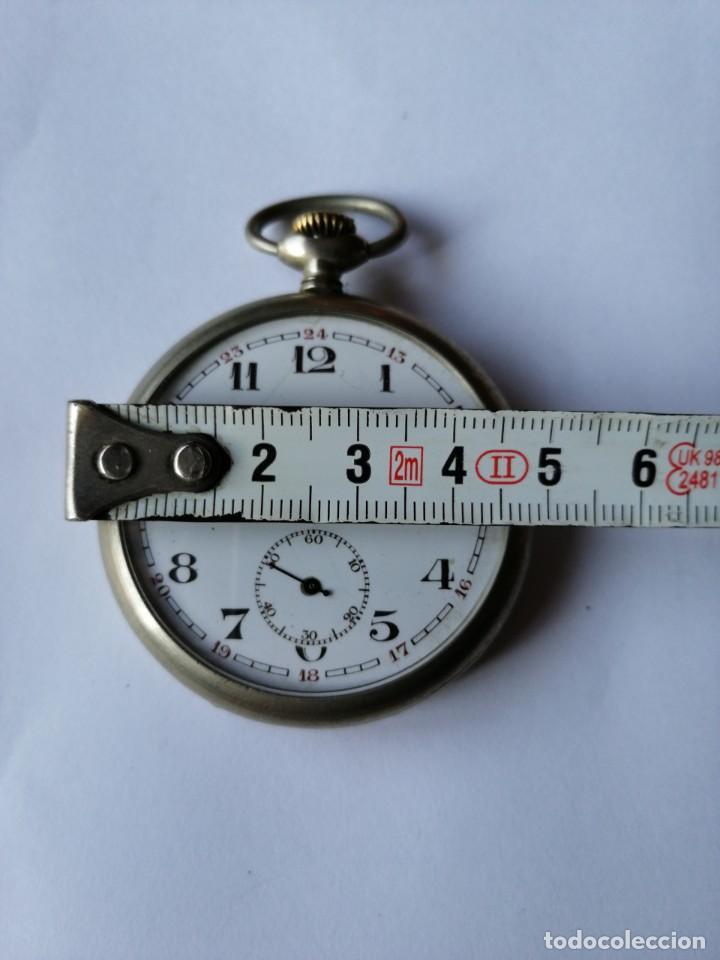 Relojes de bolsillo: RELOJ DE BOLSILLO ARGENTAN. - Foto 2 - 190778993