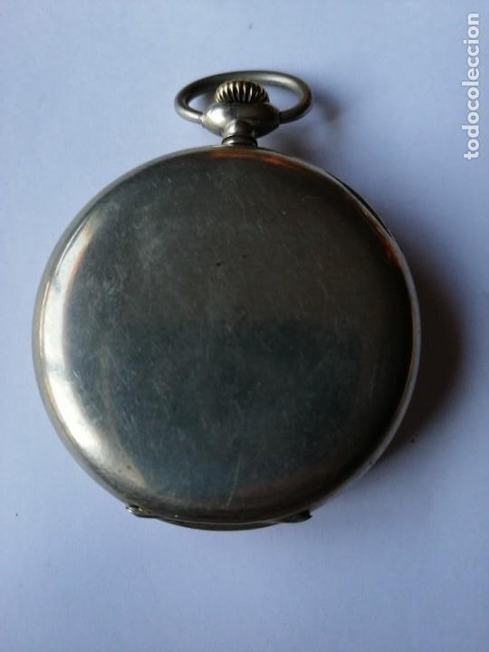 Relojes de bolsillo: RELOJ DE BOLSILLO ARGENTAN. - Foto 3 - 190778993