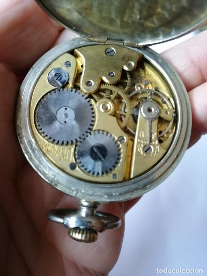 Relojes de bolsillo: RELOJ DE BOLSILLO ARGENTAN. - Foto 6 - 190778993