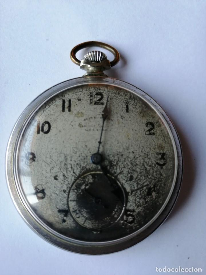RELOJ DE BOLSILLO GRANDS PRIX.BERNE 1914-BARCELONE 1929.MEMBRE DU JURY MILAN 1906.FAB.SUISSE. (Relojes - Bolsillo Carga Manual)