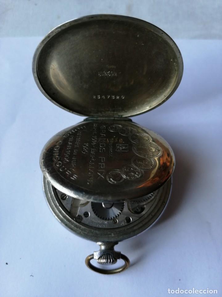 Relojes de bolsillo: RELOJ DE BOLSILLO GRANDS PRIX.BERNE 1914-BARCELONE 1929.MEMBRE DU JURY MILAN 1906.FAB.SUISSE. - Foto 4 - 190780075