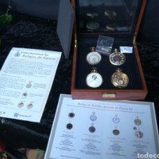 Relojes de bolsillo: LOTE DE 4 RELOJES DE BOLSILLO REMONTOIR DE COLECCIÓN. Lote 190836522