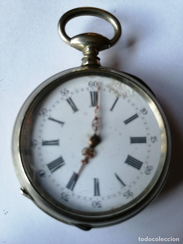 RELOJ DE BOLSILLO DE LLAVE ¿C P ? (Relojes - Bolsillo Carga Manual)