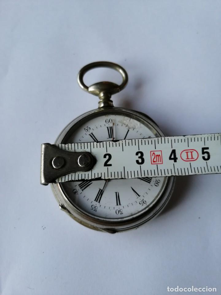 Relojes de bolsillo: RELOJ DE BOLSILLO DE LLAVE ¿C P ? - Foto 2 - 190862682